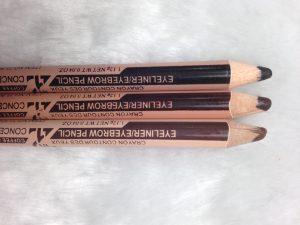 ดินสอเขียนคิ้ว/ขอบตา และคอนซิลเลอร์ ในแท่งเดียว meenow