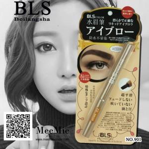 บีเอลเอส สมูท แอคคูเรท ลิควิด อายบราว นวัตกรรมการเขียนคิ้วเสมือนจริง (3มิติ : 3D) เขียนง่าย BLS no.901