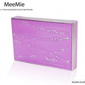 Meemie no8936 แป้ง มีมิเอะ ทรีอินวัน ชาร์มมิ่ง ฟอเรส เฟเชียล เค้ก พาวเดอร์ แป้งที่ช่วยให้การปกปิดเป็นเรื่องง่าย